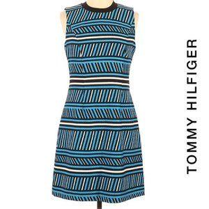 Tommy Hilfiger NWT Textured Striped Shift Dress 10